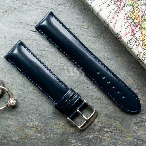 Henley Superior Blue Gloss Watch Strap