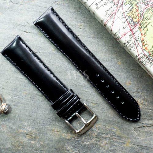 Henley Superior Black Gloss Watch Strap